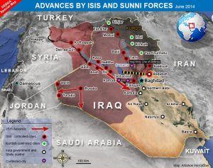 ISIS Advance