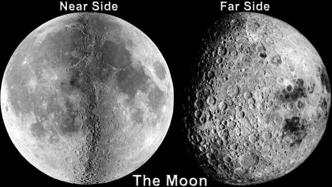 Far side of Moon